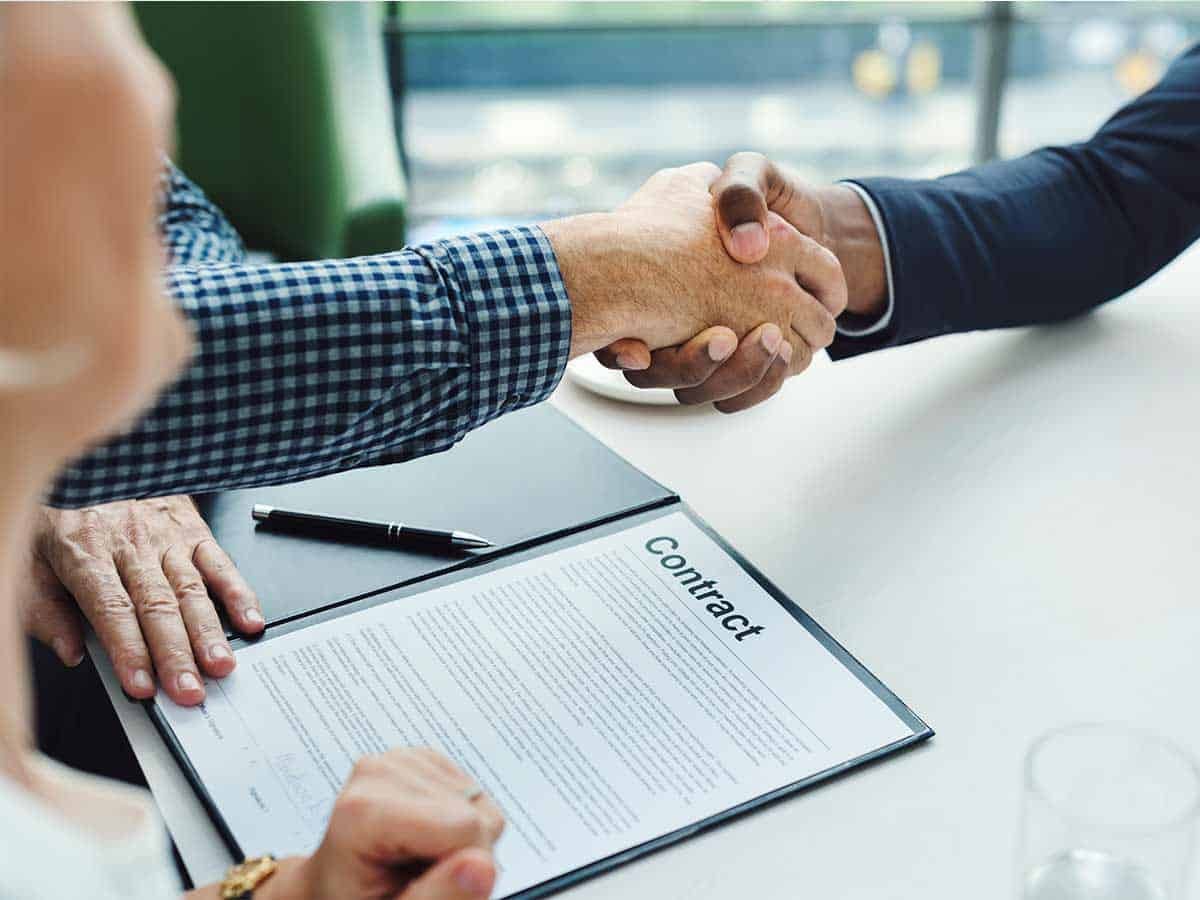 Conveyancing Contract Sign Off