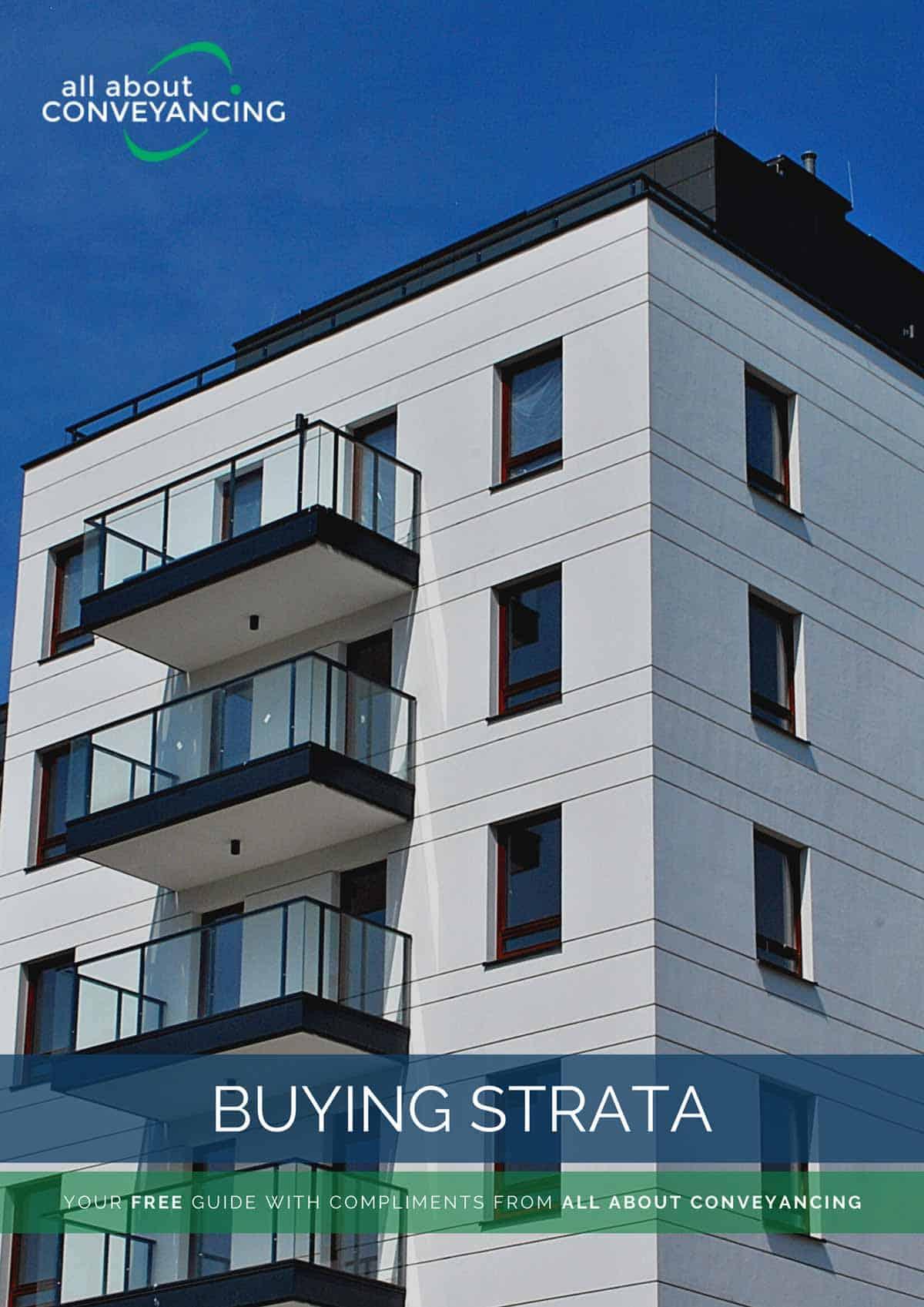 Buying Strata Report